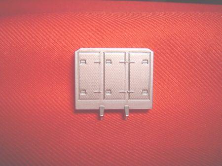 Diamond Plate Cabinet Headache Rack
