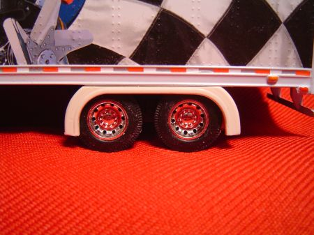 Tandem Straight Trailer Full Fenders (Resin)