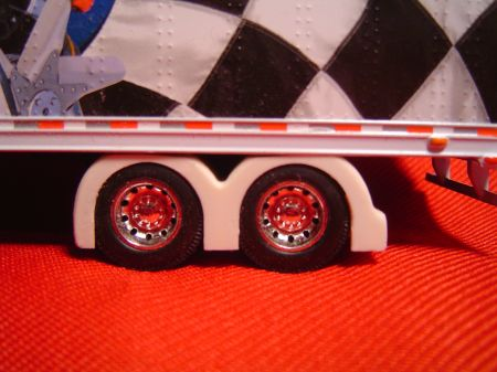 Tandem Custom Show Trailer Full Fenders (Resin)