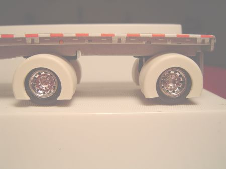 Outlaw Spread Axle Trailer Full Fenders (Resin)