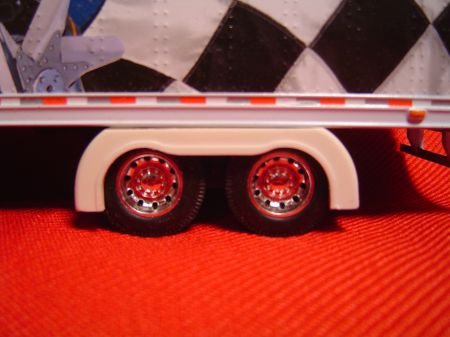 Tandem Drop Trailer Full Fenders (Resin)