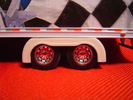 Tandem Drop Trailer Full Fenders (Resin)