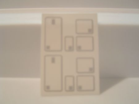 Sleeper Door Decal Card